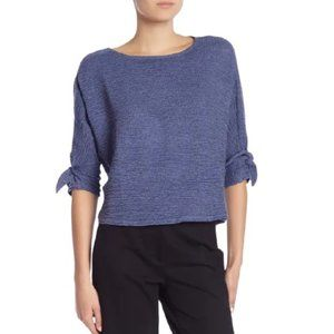 NEW Bobeau Textured Knit Top | Size S